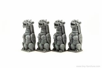 NOTRE DAME'S GARGOYLES №4 (PAINTED) special offer