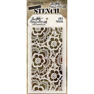 Lace трафарет Tim Holtz