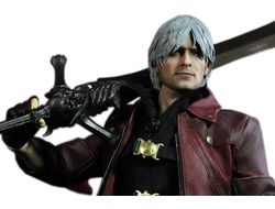 Данте (The DANTE) из игры Devil May Cry 4 (DMC4) Коллекционная фигурка 1/6 Regular Version (DMC001LUX) - Asmus Toys