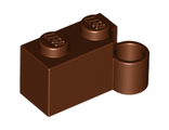 Hinge Brick 1 x 4 Swivel Base, Reddish Brown (3831 / 4215449)