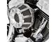 18-946 ARLEN NESS 10-Gauge Inverted Series Air Cleaner - Chrome (M8, 2017-2019)