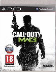 Call of Duty: Modern Warfare 3  (диск для PS3) RUS