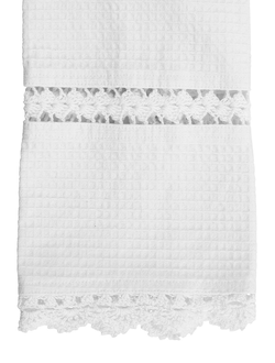 Полотенце для рук 200543 GUEST TOWEL BAINS WHITE 30X50CM COTTON
