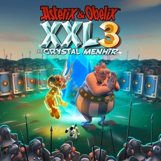 Asterix And Obelix XXL3: The Crystal Menhir (цифр версия PS4) 1-2 игрока