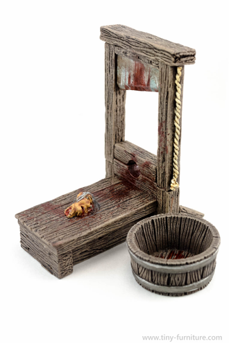 GUILLOTINE (painted)