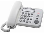 KX-TS2352UAW (цвет белый) Panasonic аналоговый телефон купить в Киеве цена