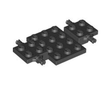 Vehicle, Base 4 x 7 x 2/3, Black (2441 / 244126)