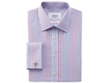 Рубашка CHARLES TYRWHITT Slim fit non-iron multi grid check shirt