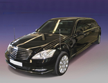Stretched and armored limousine based on a Mercedes-Benz S600 V221 +1350mm, B6, 2008 YP