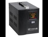 Стабілізатор напруги СНР1-0-0,5 кВА електронний переносний Home IEK IVS20-1-00500