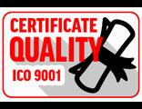Сертификат качества ISO 9001