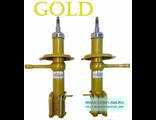 ВАЗ 2108-2110 масляные амортизаторные стойки передние Демфи GOLD (2шт). Двойной сальник.