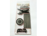 Tim Holtz Rubber Cling Stamp - The Journey