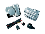7743 Сигнал  Kuryakyn WOLO BAD BOY AIR HORN KIT CHROME