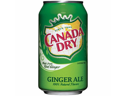 Canada Dry Ginger Ale 0.33мл (Европа)