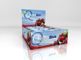 Mixed Berry Bliss Quest Bar
