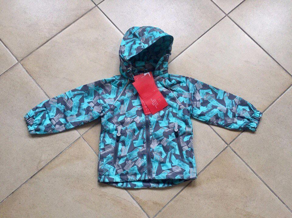 Весенняя спортивная куртка для мальчика