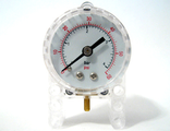 Pneumatic Pressure Gauge - Manometer (9641), Trans-Clear (64065)