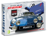 "Sega-Dendy ""Hamy 4"" (350-in-1) Gran Turismo Blue"
