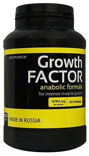 XXI Power Growth Factor 100 капс.