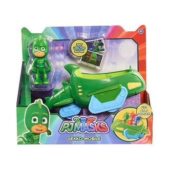Гекко с машинкой. / PJ Masks Gekko Mobile Vehicle