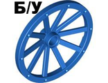 ! Б/У - Wheel Wagon Huge (43mm D.), Blue (33211 / 4129867 / 4240787) - Б/У