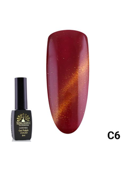 Гель-лак Global Fashion cat eye C6