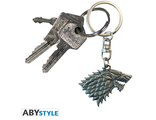 Брелок ЗD ABYstyle: Game of Thrones: Stark