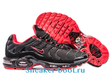 Nike Air Max Plus TN Men Black/Black/University Red