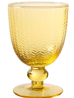 Бокал арт 32395  GLASS MYCENES YELLOW 25CL GLASS
