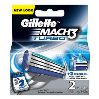 Gillette Mach3 Turbo - 2 шт