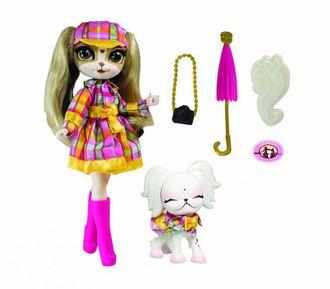 "Пинки Купер ""путешествие в Лондон"" / The Bridge Direct Pinkie Cooper Travel Pinkie in London Collection Doll with Pet"