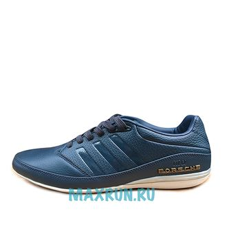 Adidas Porsche Design Dark Blue Leather мужские (41-45)