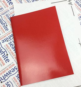 Скетчбук Seawhite Starter Sketchbook Laminated Cover (А4, 40 стр., 140gsm) red