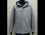 Мужская весенняя куртка серая 001-1