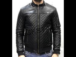 Мужская куртка Emporio Armani Black демисезонная