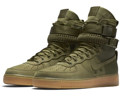 Nike Special Field Air Force 1 Faded Olive Хаки Унисекс (36-45)