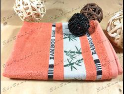 Бамбуковое полотенце спорт класс 48х98 Bamboo терракот