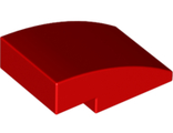 Slope, Curved 3 x 2 No Studs, Red (24309 / 6132210)