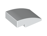 Slope, Curved 3 x 2 No Studs, White (24309 / 6132212)