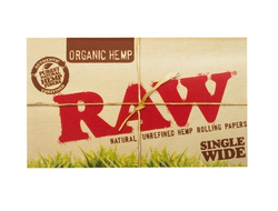 RAW Single Wide Organic Double Pack бумажки