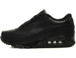 Nike Air Max 90 Leather Black (36-45)