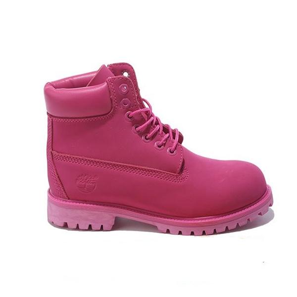 Ботинки Timberland 6 Inch Boots женские розовые 75ff41dfa91