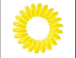 Резинка для волос EZ bobbles  Желтая 3шт./уп
