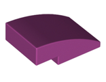 Slope, Curved 3 x 2 No Studs, Magenta (24309 / 6138638)