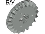 ! Б/У - Technic, Gear 20 Tooth Bevel, Light Gray (32198 / 4206307) - Б/У