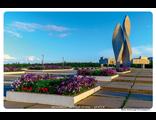 """Братск. Монумент """"Вечный огонь"""""""