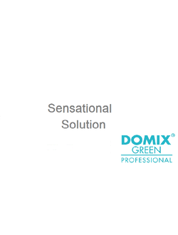 DOMIX GREEN PROFESSIONAL. Линия SENSATIONAL SOLUTION