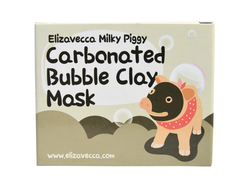 Elizavecca Milky Piggy Carbonated Bubble Clay Mask 100g.