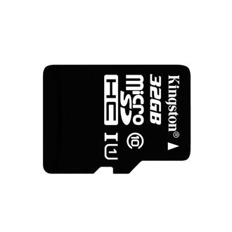 Карта памяти micro SD Kingston 32GB Class10
